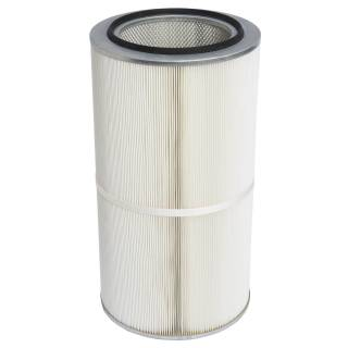 Filter cartridges for welding smoke extraction